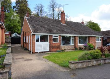 Thumbnail 3 bed semi-detached bungalow for sale in Toll Bar Road, Grantham