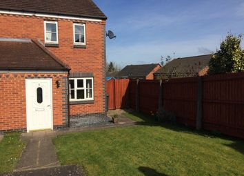 Thumbnail 2 bed semi-detached house to rent in Burdock Close, Hamilton, Leicester