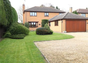 Thumbnail 4 bed detached house for sale in Bourne Road, Thurlby, Bourne, Lincolnshire