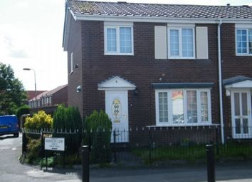 Thumbnail 3 bed end terrace house to rent in Barrington Court, Bedlington