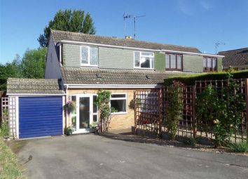 Thumbnail 3 bed semi-detached house for sale in Waite Meads Close, Purton, Wiltshire