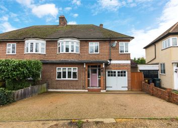 Thumbnail 4 bed semi-detached house for sale in Pine Avenue, Gravesend, Kent