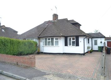 Thumbnail 3 bed semi-detached bungalow for sale in Beaufort Way, Ewell, Epsom