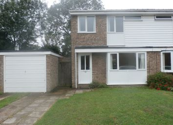 Thumbnail 3 bed property to rent in Marks Way, Girton, Cambridge