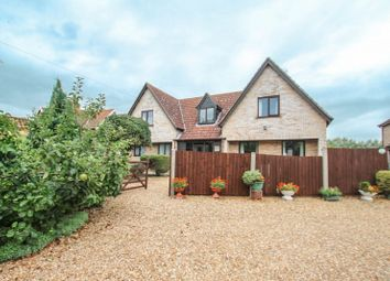 Thumbnail 5 bed detached house to rent in Chapel Road, Weston Colville, Cambridge