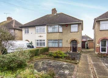 Thumbnail 3 bed semi-detached house for sale in Upminster, ., Essex