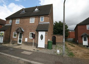 Thumbnail 1 bedroom maisonette for sale in Yew Tree Road, Attleborough