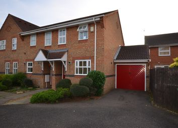 Thumbnail 2 bed end terrace house for sale in Honeysuckle Court, Woodston, Peterborough