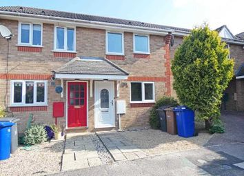 Thumbnail 2 bed terraced house for sale in Haselmere Close, Bury St. Edmunds