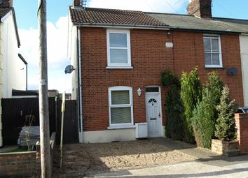 Thumbnail 2 bed semi-detached house to rent in Newton Road, Ipswich