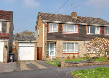 Thumbnail 3 bed semi-detached house for sale in Saxon Way, Halterworth, Romsey, Hampshire
