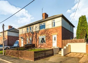 Thumbnail 3 bed semi-detached house for sale in Hunter Avenue, Ushaw Moor, Durham, County Durham