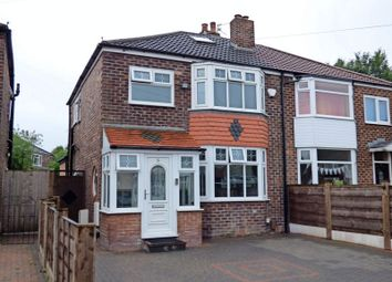 Thumbnail 3 bedroom semi-detached house for sale in Marton Grove, Stockport