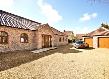 Thumbnail 4 bed detached bungalow for sale in The Street, Syderstone, King's Lynn