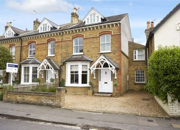Thumbnail 5 bed semi-detached house for sale in Manor Road, East Molesey, Surrey