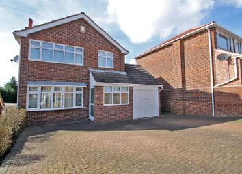 Thumbnail 3 bed detached house for sale in Roseneath Avenue, Rise Park, Nottingham