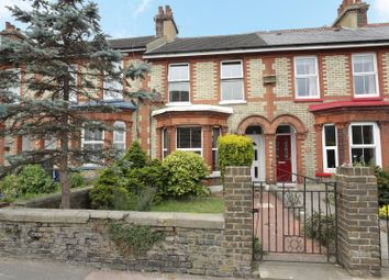 Thumbnail 3 bed terraced house for sale in Folkestone Road, Dover