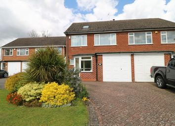 Thumbnail 4 bed semi-detached house for sale in Fieldon Close, Shirley, Solihull