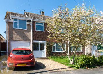 Thumbnail 4 bed semi-detached house for sale in Byron Avenue, Royal Wootton Bassett, Swindon