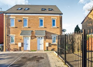 Thumbnail 3 bed semi-detached house for sale in Langbar Approach, Leeds