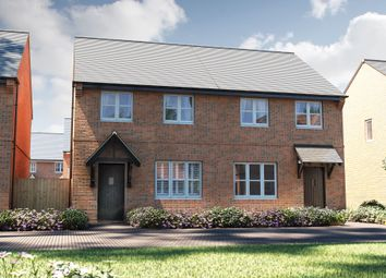 "Thumbnail 3 bed mews house for sale in ""The Studland"" at Carsington Drive, Stoke-On-Trent"