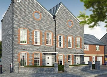 "Thumbnail 4 bed terraced house for sale in ""The Elm "" at Mill Lane, Bitton, Bristol"