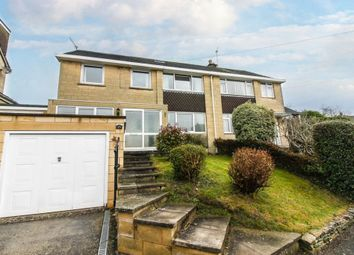 Thumbnail 4 bed semi-detached house for sale in Napier Road, Upper Weston, Bath