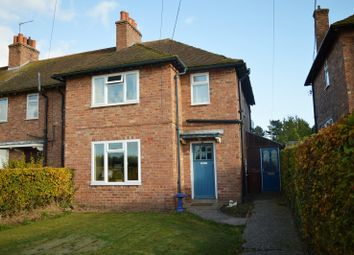 Thumbnail 3 bed terraced house to rent in Newport Road, Knighton, Staffordshire
