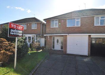 Thumbnail 3 bed semi-detached house to rent in Bunbury Road, Northfield, Birmingham
