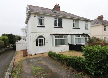Thumbnail 3 bed semi-detached house for sale in Higher Compton Road, Mannamead, Plymouth