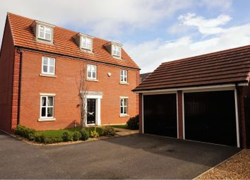 Thumbnail 5 bed detached house for sale in Wellman Avenue, Wrexham