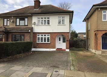 Thumbnail 3 bed semi-detached house to rent in Carter Drive, Romford