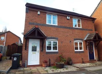 Thumbnail 2 bedroom semi-detached house for sale in St. Davids Road, Braunstone Frith, Leicester, Leicestershire