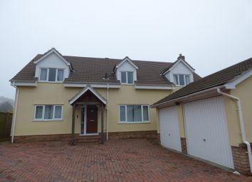 Thumbnail 4 bed detached house to rent in Brinkley Road, Dullingham, Newmarket