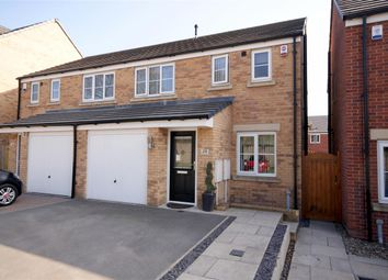 Thumbnail 3 bed semi-detached house for sale in Oak Mount, Sutherland Road, Lightcliffe, Halifax