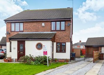 Thumbnail 2 bed semi-detached house for sale in Willerby Carr Close, Hull