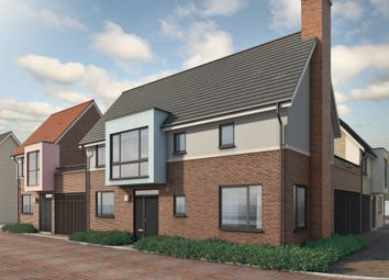 Thumbnail 3 bedroom link-detached house for sale in Mill Road, Mile End, Colchester