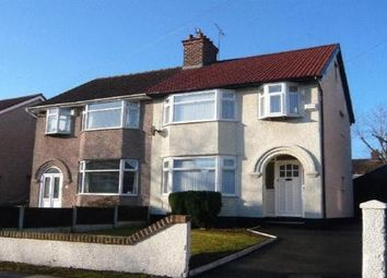 Thumbnail 3 bed property to rent in Heyville Road, Wirral