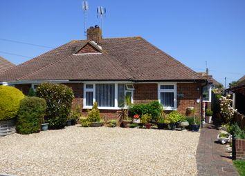 Thumbnail 2 bed semi-detached bungalow for sale in Tennyson Avenue, Rustington, Littlehampton