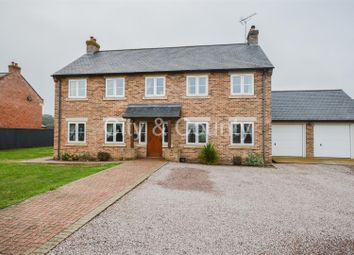 Thumbnail 5 bed detached house for sale in Barbers Drove North, Crowland, Peterborough