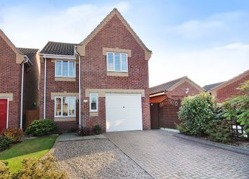 Thumbnail 3 bed detached house for sale in Alder Close, North Walsham
