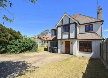 Thumbnail 4 bed detached house for sale in First Avenue, Kingsgate, Kent