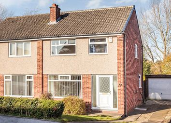 Thumbnail 3 bed semi-detached house to rent in Fairburn Drive, Garforth, Leeds