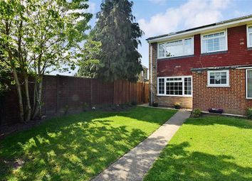 Thumbnail 3 bed end terrace house for sale in Honeyball Walk, Teynham, Sittingbourne, Kent