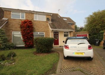 Thumbnail 4 bedroom semi-detached house to rent in Great Lawne, Datchworth, Knebworth