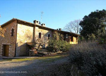Thumbnail 5 bed farmhouse for sale in Str. Eugenio Montale, Rapolano Terme, Tuscany