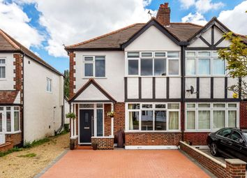 Thumbnail 3 bed semi-detached house for sale in Aylward Road, Merton Park, London