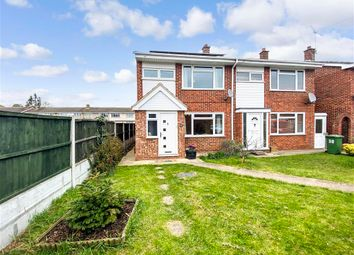 Thumbnail 3 bed semi-detached house for sale in Sutcliffe Close, Wickford, Essex
