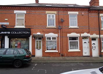 Thumbnail 4 bedroom terraced house for sale in Bonsall Street, Leicester