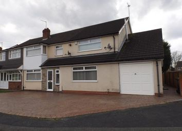 Thumbnail 6 bed semi-detached house for sale in Conway Crescent, Willenhall, West Midlands
